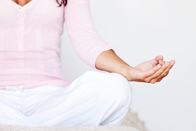 """""""Durch Meditation wird der Geist friedlich"""""""