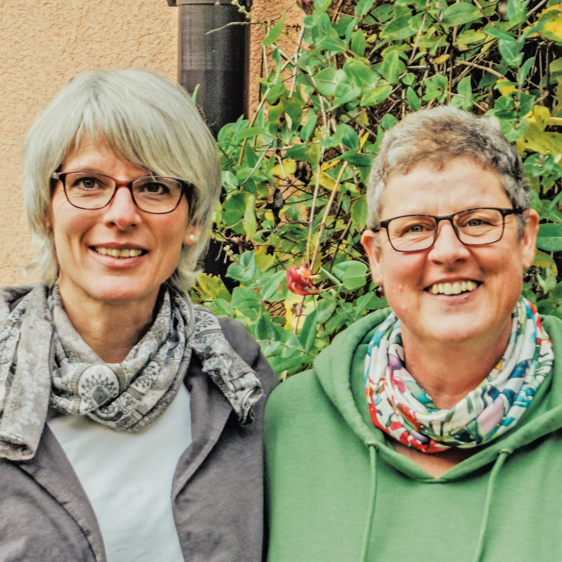 Christine Herden und Christiane Gerspach